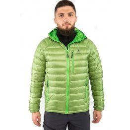 Куртка пуховая VsimGir DJ03 мужская салатовая
