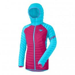 Куртка Dynafit Radical Down Hood  Jacket Wms женская фиолетовая/голубая