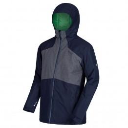 Куртка Regatta Garforth II чоловіча темно-синя/сіра