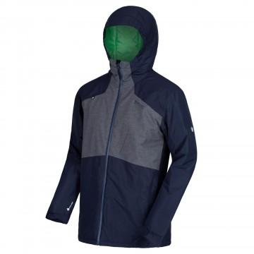 Куртка Regatta Garforth II мужская темно-синяя/серая