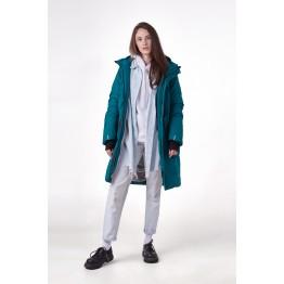 Куртка S-сape Parka женская бирюзовая