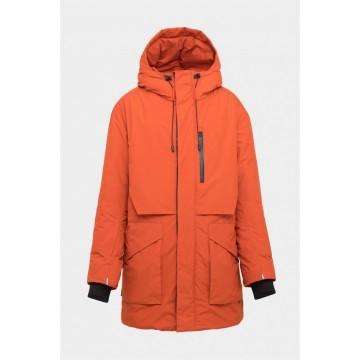 Куртка S-Cape Parka Win21 Mns Cinnamon мужская оранжевая