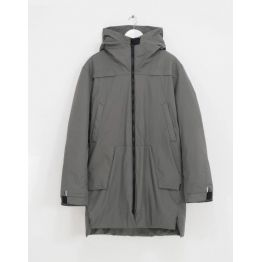 Куртка S-Cape Parka Dem21 Wmn Gunmetal жіноча сіра