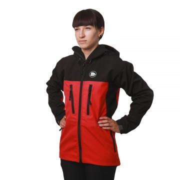 Куртка софтшел Fram Equipment Ice-C красная/черная
