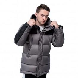 Куртка Sokolov Down Jacket чоловіча сіра/чорна