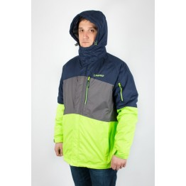 Куртка лыжная Campri Ski мужская зеленая