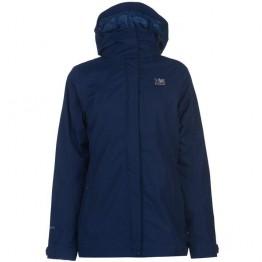 Куртка Karrimor 3 in 1 Weathertite Jacket женская темно-синяя