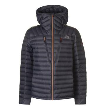 Куртка пухова Karrimor Alpiniste чоловіча сіра