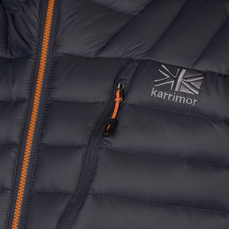 Куртка пухова Karrimor Alpiniste чоловіча сіра - купити f26572c5d7b33