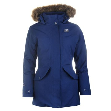 Куртка Karrimor Weathertite Parka женская синяя