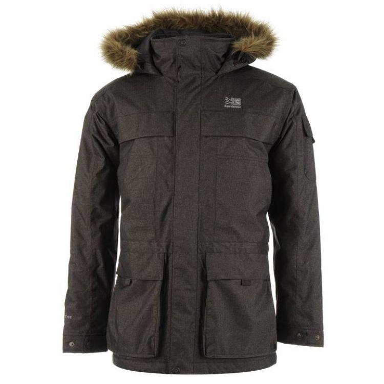 Куртка Karrimor Weathertite Parka сіра чоловіча - купити dcdf16e42c4ae