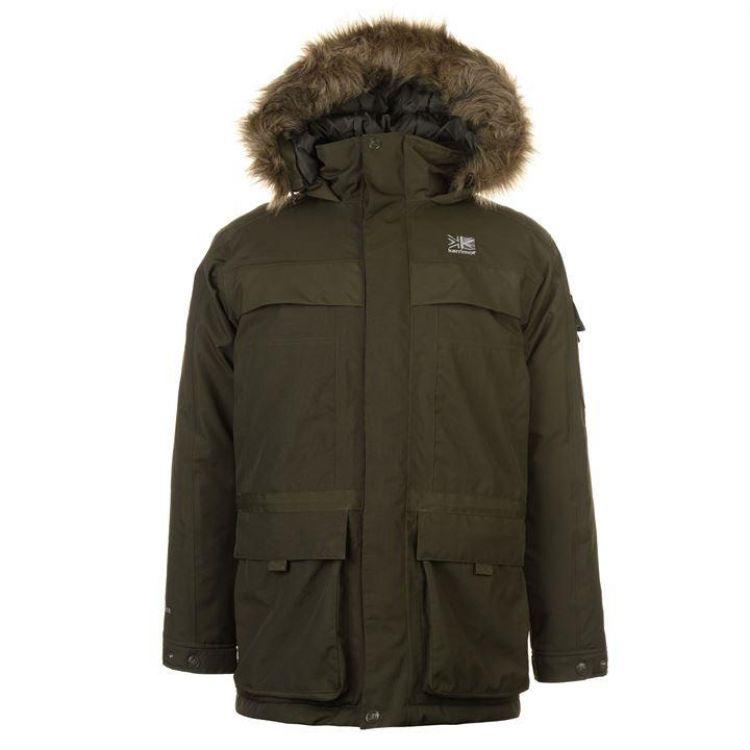 Куртка Karrimor Weathertite Parka зелена чоловіча - купити c4589b89ac417