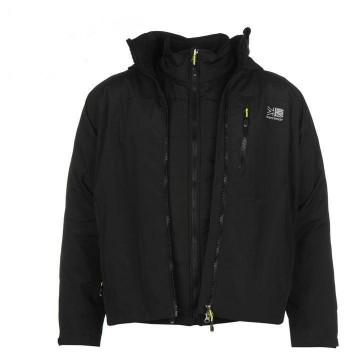 Куртка мембранна Karrimor Ridge 3in1 чоловіча чорна