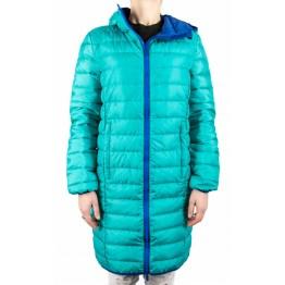 Куртка пухова VsimGir DJ02 жіноча бірюзова