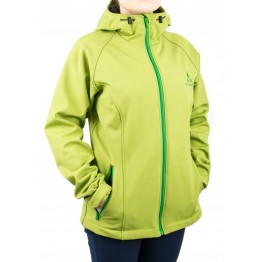 Куртка софтшел VsimGir VGJ04 женская зеленая