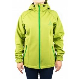Куртка софтшел VsimGir VGJ04 жіноча зелена