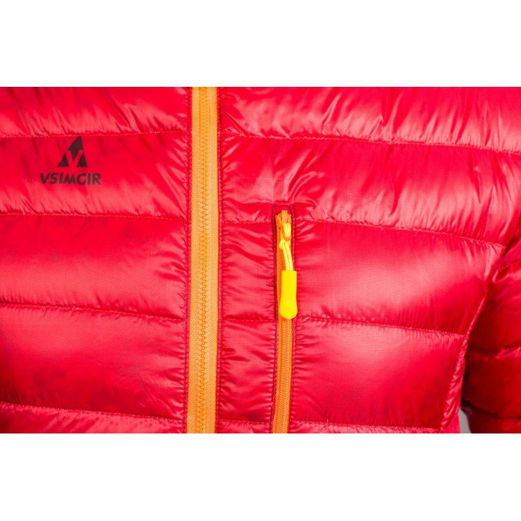 Куртка пухова VsimGir VGD3 червона жіноча - купити 80112a4139b78