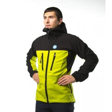 Куртка софтшел Fram Ice-C чоловічий салатовий/темно-синій