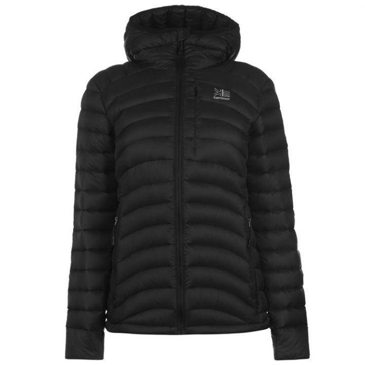 Куртка пухова Karrimor Alpiniste жіноча чорна - купити 2a5a6379b705c