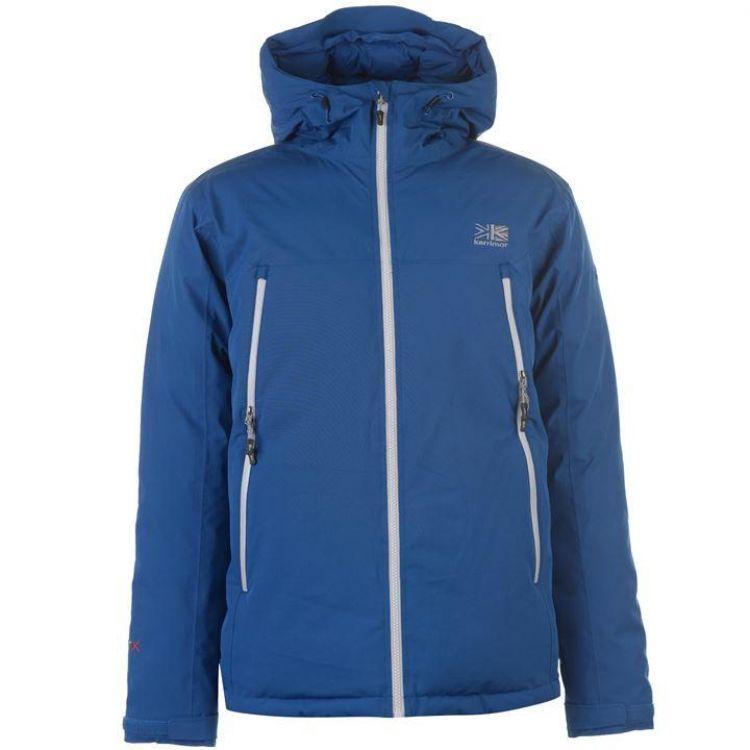 Куртка пухова Karrimor Merlin чоловіча синя - купити 6b87093031ce9