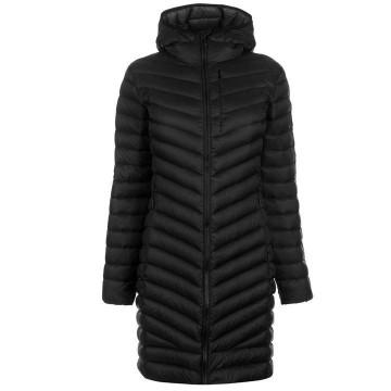 Куртка пуховая Karrimor Long Alpine женская черная