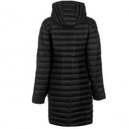 Куртка пухова Karrimor Long Alpine жіноча чорна