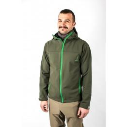 Куртка софтшел VsimGir VGJ03 мужская зеленая