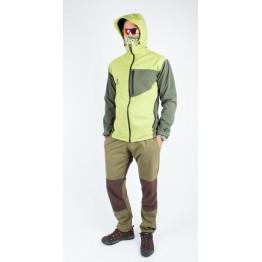 Куртка софтшел VsimGir VGJ02 мужская зеленая