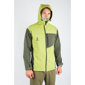 Куртка софтшел VsimGir VGJ02 чоловіча зелена