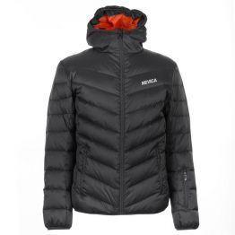 Куртка пухова Nevica Bubble чоловіча темно-сіра
