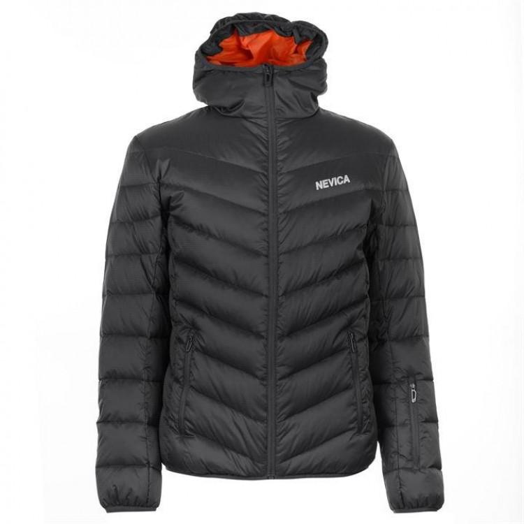 Куртка пухова Nevica Bubble чоловіча темно-сіра - купити 4acb08346bfee