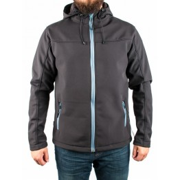 Куртка софтшел Legion Softshell мужская black / blue