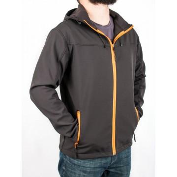 Куртка Legion Softshell чоловіча black/orange