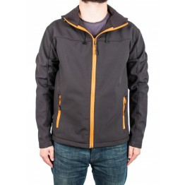 Куртка софтшел Legion Softshell чоловіча black/orange