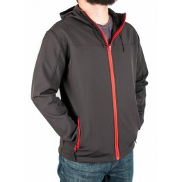 Куртка Legion Softshell чоловіча black/red