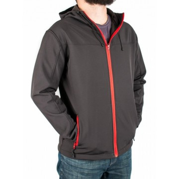 Куртка софтшел Legion Softshell чоловіча black/red
