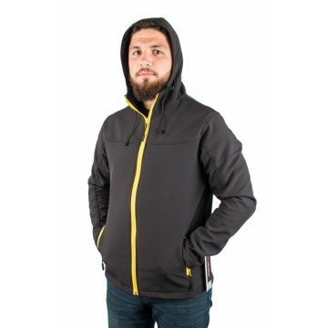 Куртка Legion Softshell мужская black / yellow