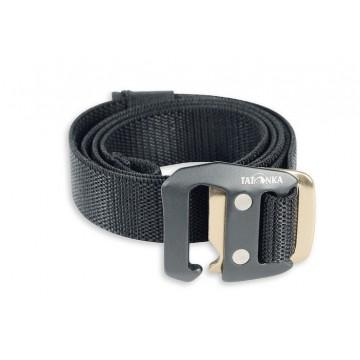 Ремень Tatonka Stretch Belt 25 mm черный