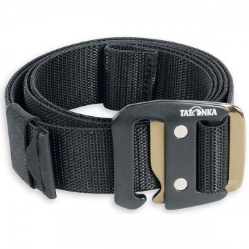 Ремінь Tatonka Stretch Belt 32 mm чорний