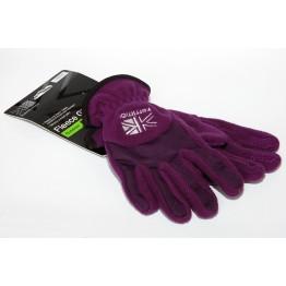 Перчатки Karrimor Fleece женские фиолетовые