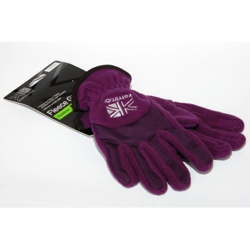 Перчатки Karrimor Fleece фиолетовые