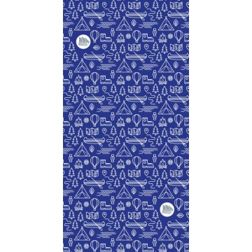 Многофункциональный головной убор Fram Adventure темно-синий