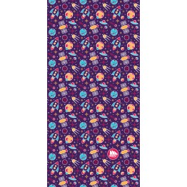 Багатофункціональний головний убір Fram Space фіолетовий