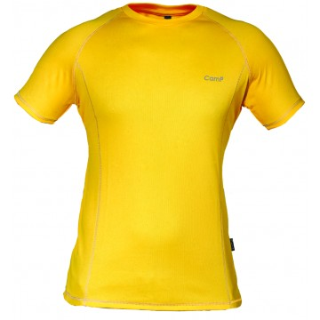 Футболка CAMP Sport OptiDry мужская желтая