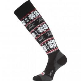 Шкарпетки Lasting SSW чорні/білі