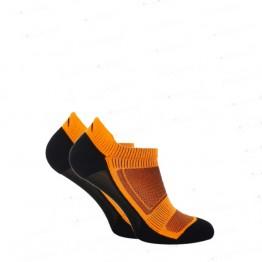 Шкарпетки функціональні Trekking LowDry унісекс чорно-помаранчеві