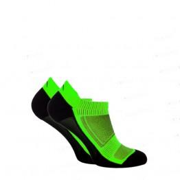 Носки функциональные Trekking LowDry унисекс черно-салатовые