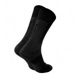 Шкарпетки трекінгові демісезонні Trekking MiddleDemi унісекс чорні