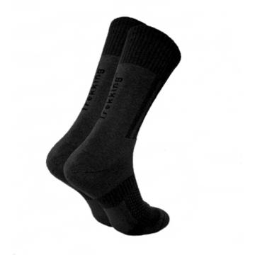Носки Trekking MiddleDemi унисекс черные