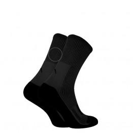 Шкарпетки Trekking MidDry+ унісекс чорні